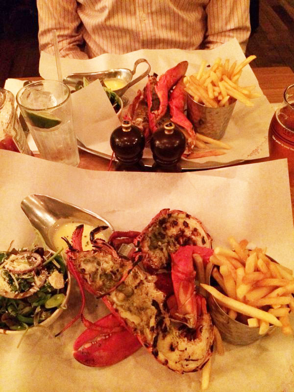 double lobster