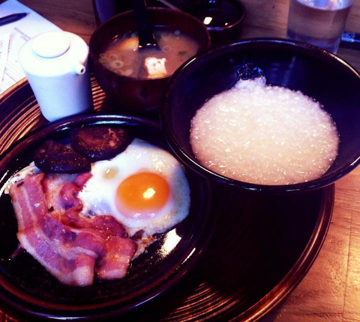 koya bar breakfast japanese soho udon rice porridge