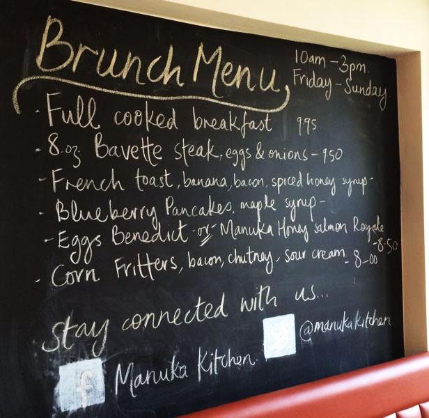 manuka kitchen fulham lunch dinner menu date broadway