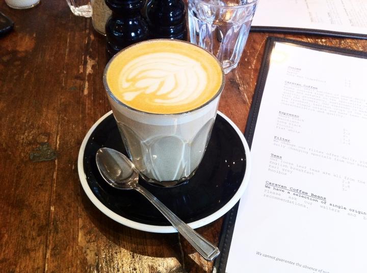 CARAVAN EXMOUTH MARKET MENU COFFEE