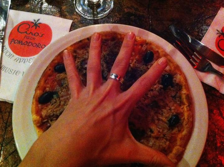 pizza pomodoro menu