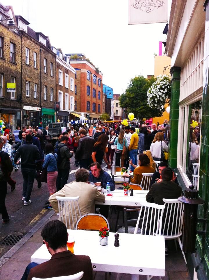 bermondsey street festival 2015 london bridge