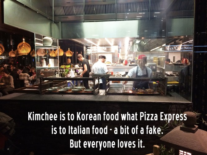 kimchee korean restaurant central london cheap