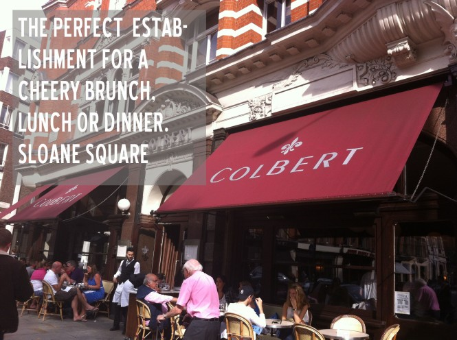 Colbert chelsea brunch lunch dinner menu
