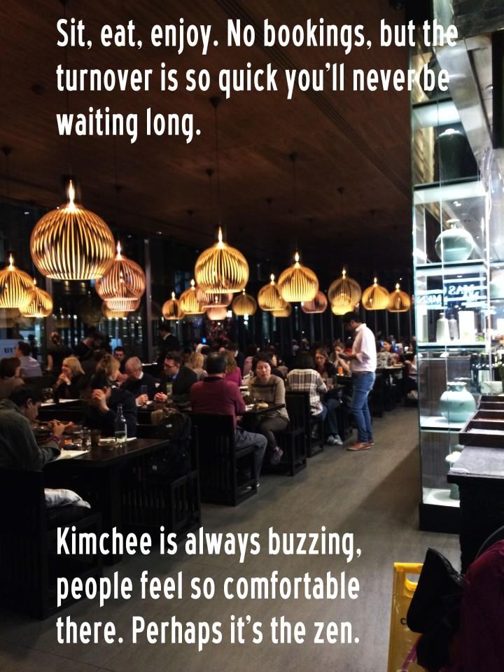 kimchee korean restaurant central london cheap