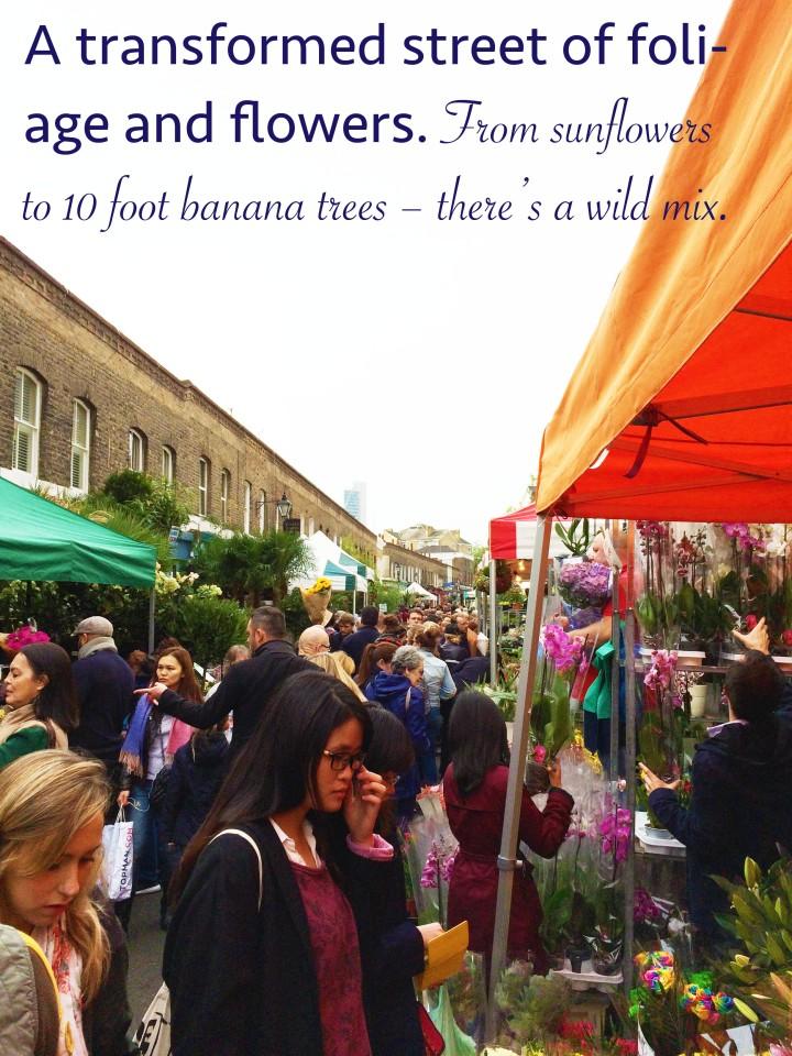 Columbia Road open market weekend