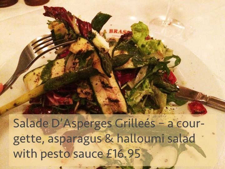 French restaurant Kensington brasserie lunch dinner