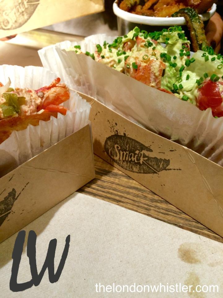 Smack Lobster, Lobster rolls, Mayfair, Soho, Oxford Street