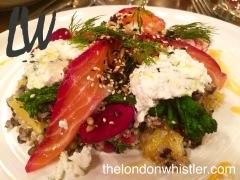 Jamies Italian Threadneedle Street, dinner, lunch, menu, Rosie
