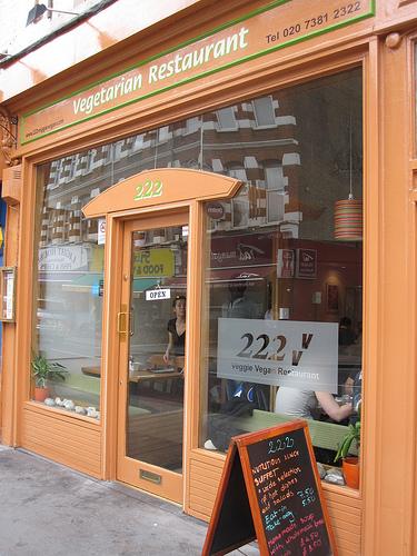 222 vegetarian vegan restaurant